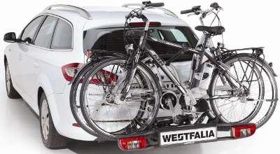 BC 60 Radträger montiert