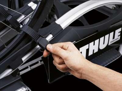 Eine einfache Sicherung der Fahrräder