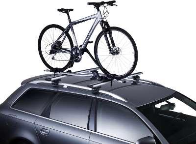 Der aktuell beste Fahrradträger für das Dach im Einsatz