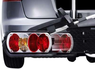 Mit hochmodernen LED-Rückleuchten